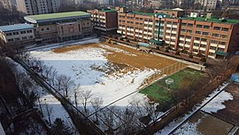 Gyeonggi Global Trade High School, Photographed in the Saesbyeol Hanyang Apt Complex 1 (2).jpg