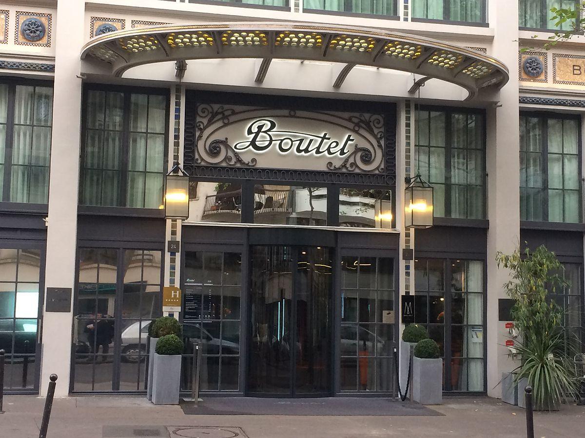 H tel paris bastille boutet wikip dia for Hotel paris design luxe