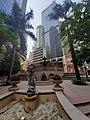 HK 上環 Sheung Wan 永樂街 Wing Lok Street 中遠大廈 Cosco Tower 新紀元廣場 Grand Millennium Plaza garden October 2019 SS2 05.jpg