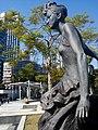 HK 尖東海濱平台 TST East Waterfront Podium 星光花園 Garden of Stars statue Anita Mui 梅艷芳 standing walking Dec 2016 Lnv2 04.jpg