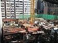 HK 石塘咀 Shek Tong Tsui 翰林峰 Novum West construction site view from Clarence Terrace Nov 2017 IX1 01.jpg