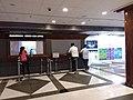 HK SWH 西灣河市政大廈 Sai Wan Ho Complex SWCC 西灣河文娛中心 Civic Centre lobby interior night July 2019 SSG 02.jpg