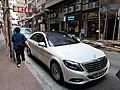 HK SW 上環 Sheung Wan 急庇利街 Cleverly Street Jervois Street May 2021 SS2 white car parking.jpg