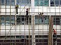 HK TaiPoGovernmentOfficesBldg Bambooscaffolding.JPG