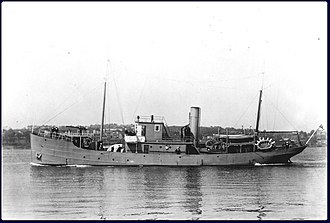 Net laying ship - Image: HMCS Ypres E 35756