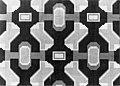 HUA-153964-Afbeelding van het wandmozaïek naar ontwerp van Frans Nix op de voorgevel van het N.S.-station Purmerend te Purmerend.jpg