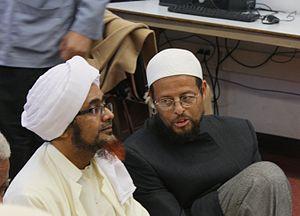 Umar bin Hafiz - Habib Umar with Imam Zaid Shakir in Oakland, CA, 2011