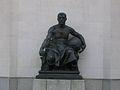 Hall of Memory statue facing East.JPG