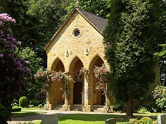 Halle (Westfalen) - Mausoleum of the church Stockkämpen