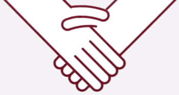 English: A stylised imaged of the handshaking ...