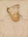 Hans Holbein the Younger - Unknown man with red beard RL 12262.jpg