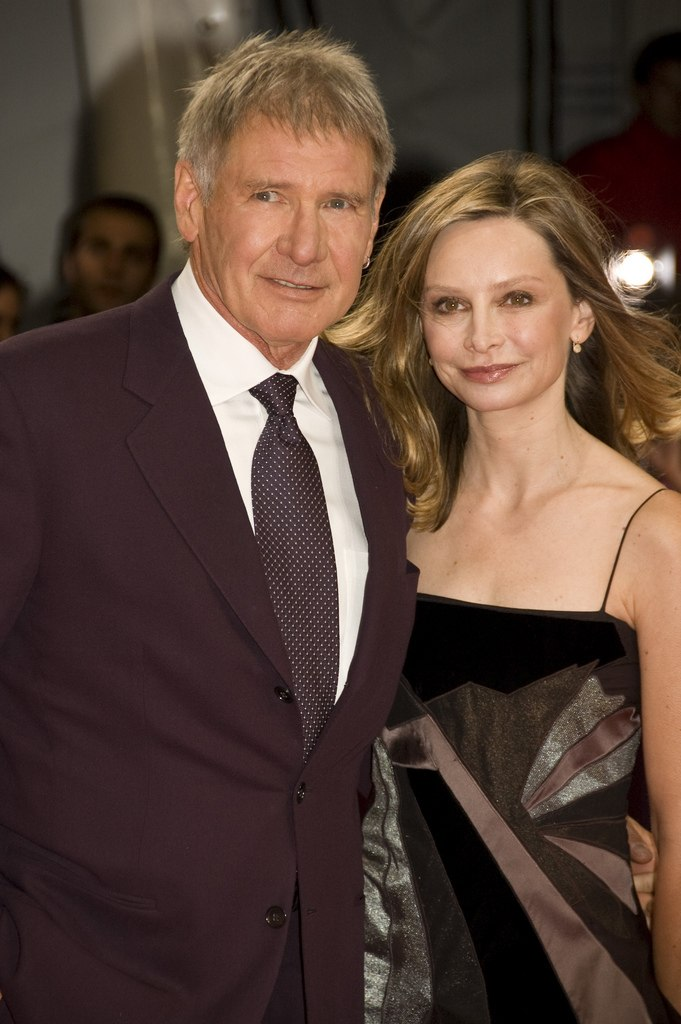 Harrison Ford and Calista Flockhart at the 2009 Deauville American Film Festival-04