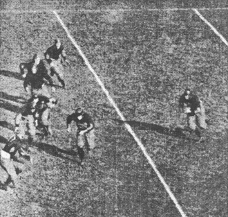 1915 college football season - Eddie Mahan runs against Princeton.