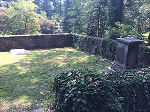 Hollywood Cemetery (Richmond, Virginia) - The Harvie family plot.
