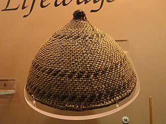 Southern Paiute people - Hat, Southern Paiute, collected 1876 - Native American collection - Peabody Museum, Harvard University - DSC05567