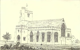 Hawkhurst Church - 'Page Notes on the churches in the counties of Kent, Sussex, and Surrey djvu 111 - Wikisource'.png