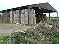 Hay in open sided Barn, Allscott, Shropshire - geograph.org.uk - 427737.jpg