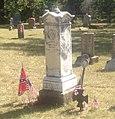 Headstone of George R Reeves, Georgetown Cemetery, Pottsboro, Texas.jpg