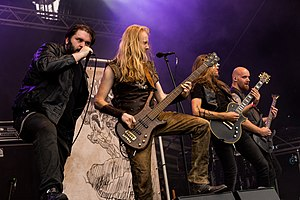 Heidevolk beim Metal Frenzy Festival 2017 in Gardelegen