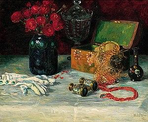 A still life. Heinrich Uhl, Still life with Je...