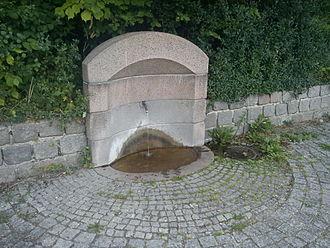 Niels of Aarhus - Hellig Niels' Kilde (lit.: Holy Niels' Spring) at Frederiksbjerg in Aarhus.
