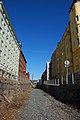 Helsinki harbour rail Telakkakatu shaft after dismantling, 2009.jpg
