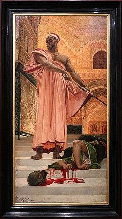 Henri regnault, esecuzione senza processo sotto i re mori di granada, 1870, 01.JPG