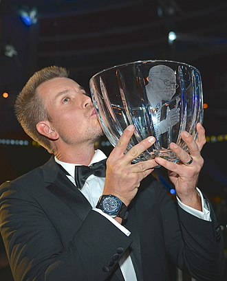 Swedish Golfer of the Year - Five time winner Henrik Stenson