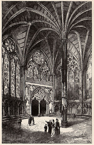 Dean and Chapter of Westminster - The Chapter House at Westminster Abbey
