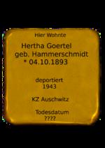 Hertha Goertel