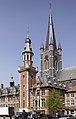 Het stadhuis met belfort te Eeklo - 374984 - onroerenderfgoed.jpg