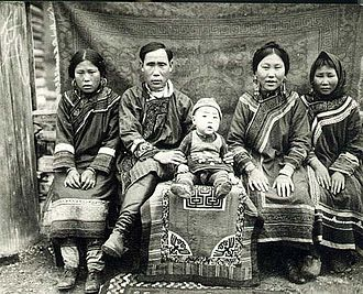 Nanai people - Nanai family, Amur region of Russia