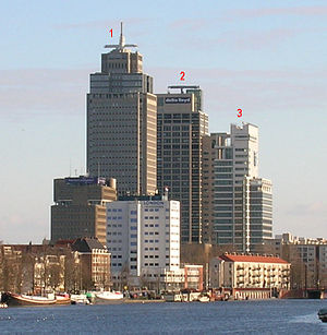 Rembrandt Tower - Image: High buildings in Amsterdam