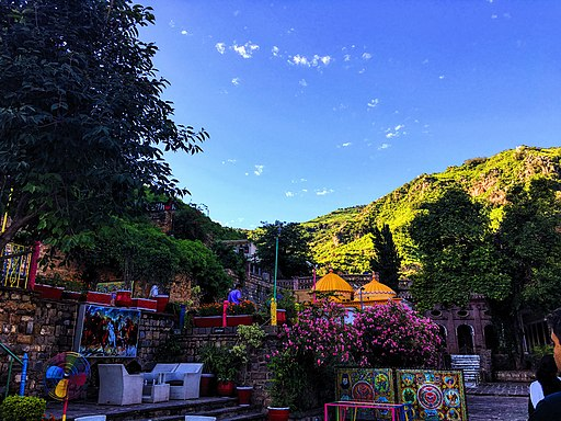 Hills in the backdrop of Saidpur Village