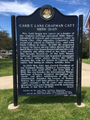 Historical marker for Carrie Lane Chapman Catt in Iowa.png