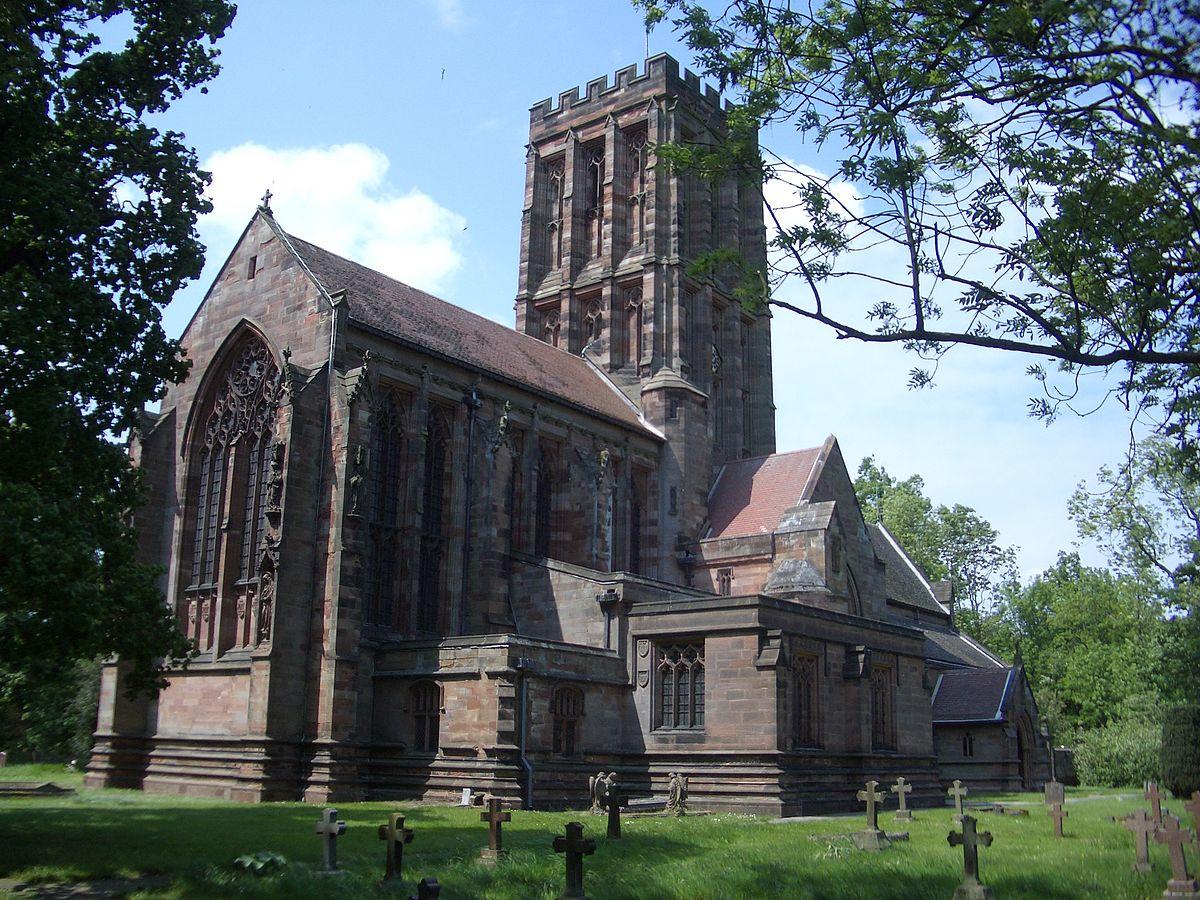 Church of the Holy Angels, Hoar Cross - Wikipedia