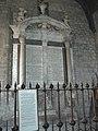 Holy Trinity Church, Newton St Loe, tomb of Joseph Langton.JPG