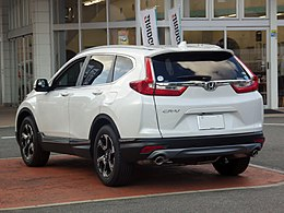 Honda CR-V EX・Masterpiece (DBA-RW1) rear.jpg