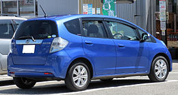Honda Fit Hybrid Navi Premium selection Rear 0231.JPG