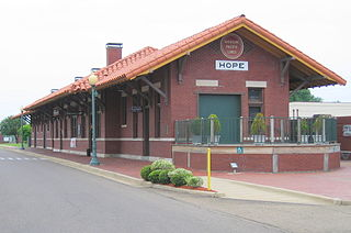 Hope station (Arkansas) train station in Hope, Arkansas