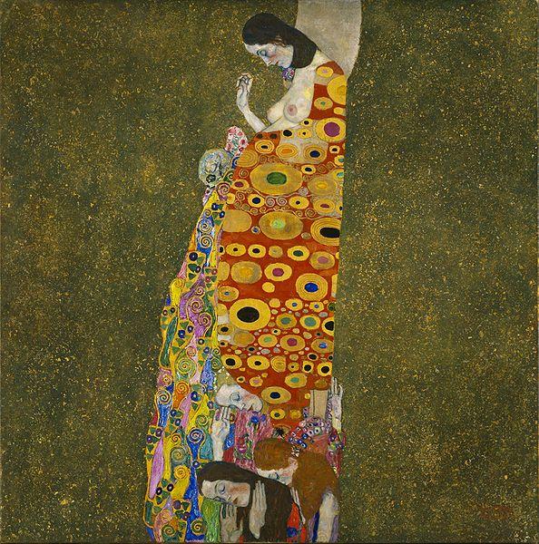 http://upload.wikimedia.org/wikipedia/commons/thumb/c/c5/Hope2-Klimt.jpg/594px-Hope2-Klimt.jpg
