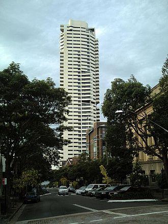 Harry Seidler - Horizon Apartments, Darlinghurst, Sydney, 1990–98
