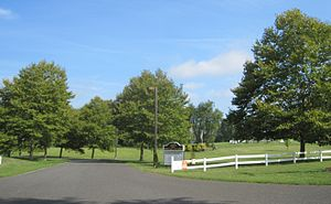Upper Freehold Township, New Jersey - Entrance to the Horse Park of New Jersey