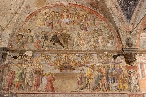 Santa Maria della Scala, Last Judgement by Vecchietta