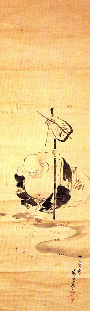 Budai - Hotei painted by Utagawa Kuniyoshi