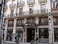 Hotel Palace, calle la Paz de Valencia 02.JPG