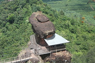 Phu Thok - Rock formation from the summit