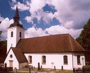 Huddinge Municipality - Image: Huddinge kyrka 2004