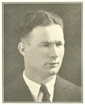 Hugh McGeehan - McGeehan pictured in The Belle Air 1924, Villanova yearbook