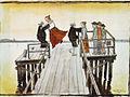 Hugo Simberg - Tanssi sillalla (1899).jpg